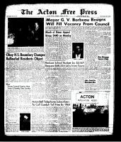 Acton Free Press (Acton, ON), March 21, 1963