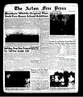 Acton Free Press (Acton, ON), September 5, 1963