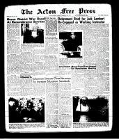 Acton Free Press (Acton, ON), November 14, 1963