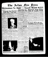 Acton Free Press (Acton, ON), November 21, 1963