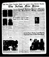 Acton Free Press (Acton, ON), November 28, 1963