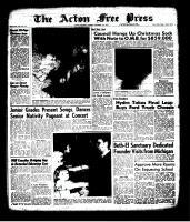 Acton Free Press (Acton, ON), December 19, 1963