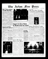 Acton Free Press (Acton, ON), January 6, 1966