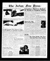 Acton Free Press (Acton, ON), January 27, 1966
