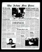 Acton Free Press (Acton, ON)20 Oct 1966
