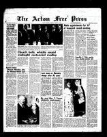 Acton Free Press (Acton, ON), January 5, 1967