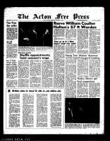 Acton Free Press (Acton, ON), January 11, 1967