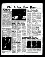 Acton Free Press (Acton, ON), February 1, 1967