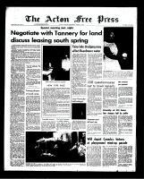 Acton Free Press (Acton, ON)9 Aug 1967