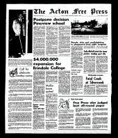 Acton Free Press (Acton, ON), August 7, 1968