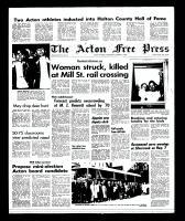 Acton Free Press (Acton, ON), October 2, 1968