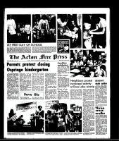 Acton Free Press (Acton, ON), September 3, 1969