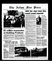 Acton Free Press (Acton, ON), September 17, 1969