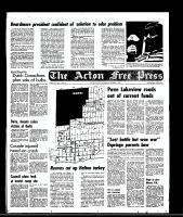 Acton Free Press (Acton, ON), October 1, 1969