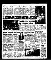 Acton Free Press (Acton, ON)22 Oct 1969