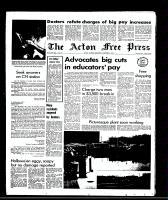 Acton Free Press (Acton, ON), November 5, 1969