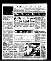 Acton Free Press (Acton, ON), November 19, 1969