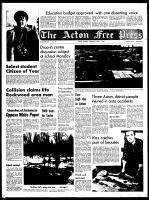 Acton Free Press (Acton, ON), April 1, 1970