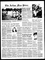 Acton Free Press (Acton, ON), July 21, 1971