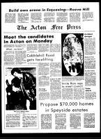 Acton Free Press (Acton, ON), September 29, 1971