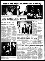 Acton Free Press (Acton, ON), October 6, 1971