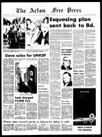 Acton Free Press (Acton, ON), November 3, 1971