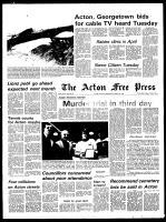 Acton Free Press (Acton, ON), March 27, 1974