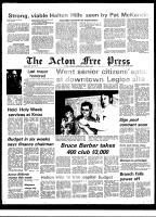 Acton Free Press (Acton, ON), April 3, 1974