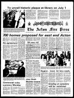 Acton Free Press (Acton, ON), June 26, 1974