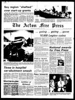 Acton Free Press (Acton, ON), July 31, 1974