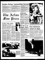Acton Free Press (Acton, ON), August 21, 1974