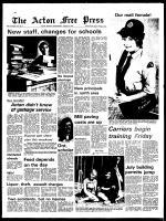 Acton Free Press (Acton, ON), August 28, 1974