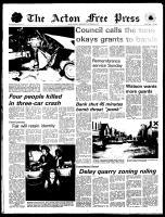 Acton Free Press (Acton, ON), November 6, 1974