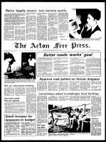 Acton Free Press (Acton, ON), April 21, 1976