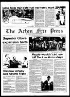 Acton Free Press (Acton, ON), July 3, 1980