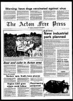 Acton Free Press (Acton, ON), July 30, 1980