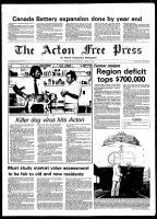 Acton Free Press (Acton, ON), August 13, 1980