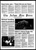 Acton Free Press (Acton, ON), August 20, 1980