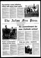 Acton Free Press (Acton, ON), October 15, 1980