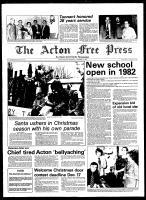 Acton Free Press (Acton, ON), December 3, 1980