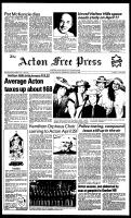 Acton Free Press (Acton, ON), March 30, 1983