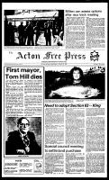 Acton Free Press (Acton, ON), August 31, 1983