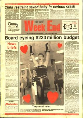 Independent & Free Press (Georgetown, ON), 11 Feb 1989