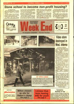 Independent & Free Press (Georgetown, ON), 4 Mar 1989