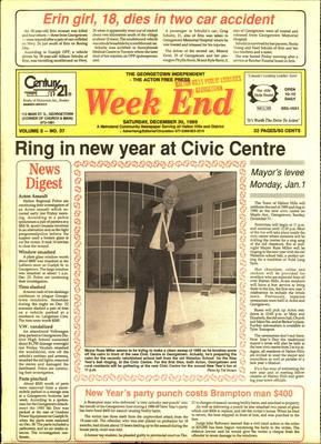 Independent & Free Press (Georgetown, ON), 30 Dec 1989