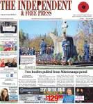 Independent & Free Press (Georgetown, ON), 10 Nov 2016