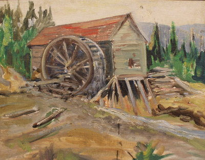 Old Mill in Hogg's Hollow