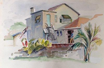 Untitled (Bermuda Scene)