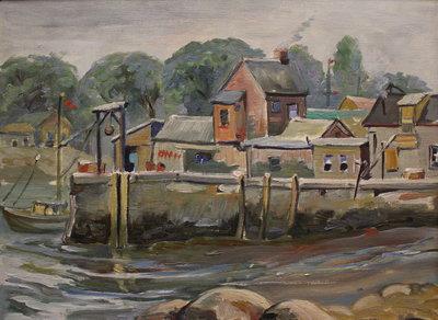 Fishermen's Huts, Rockport, Massachusetts