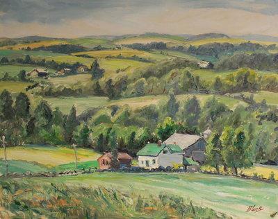 Undulating Landscape, Hillsburgh Towards Guelph